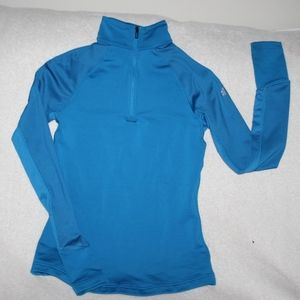 ADIDAS Woman's Half Zip CLIMAWARM Top Small